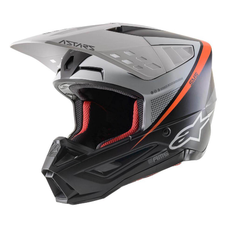 Шлем кроссовый ALPINESTARS SM5 RAYON купить по низкой цене