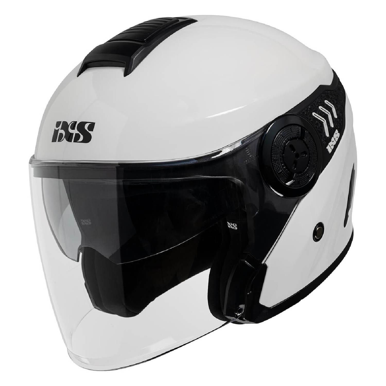 Шлем открытый IXS 100 1.0 с визором белого цвета купить по низкой цене