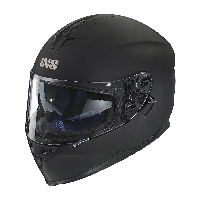 Шлем интегральный IXS 1100 1.0 матовый черного цвета купить по низкой цене