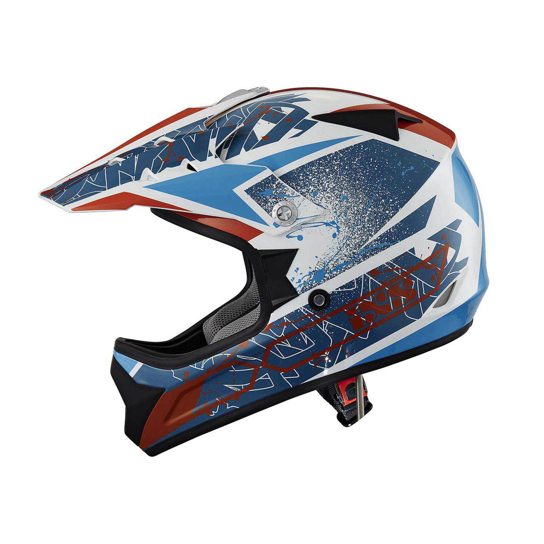 Шлем кроссовый IXS 278 KID 2.0 синего цвета купить по низкой цене