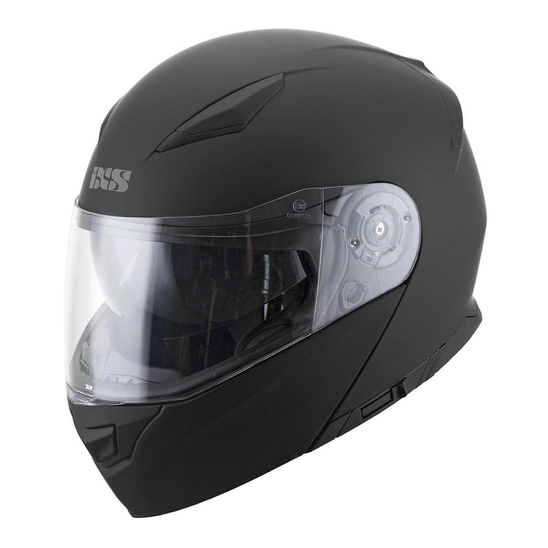 Casca modular IXS 300 1.0 черного матового цвета для мотоциклистов купить по низкой цене