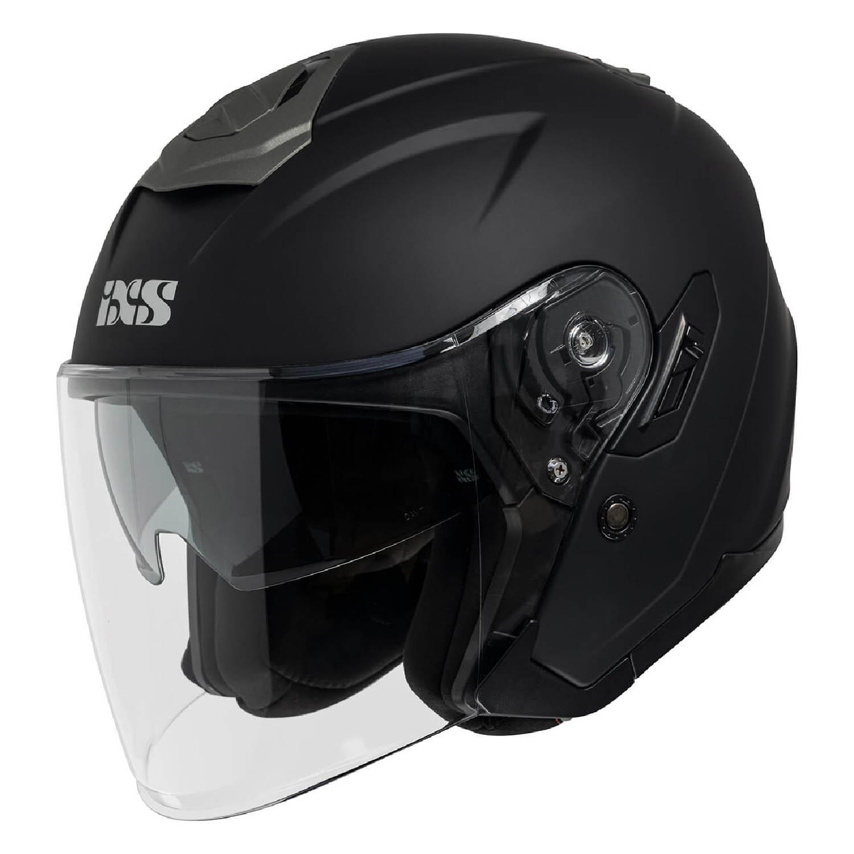 Cască deschisă IXS 92 FG 1.0 с визором матовый черного цвета купить по низкой цене