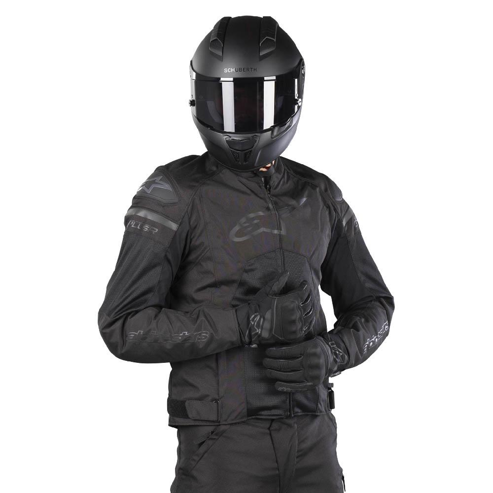 Куртка спортивная ALPINESTARS T-GP PLUS R V3 AIR текстильная для мотоциклистов, вид стоя купить по низкой цене
