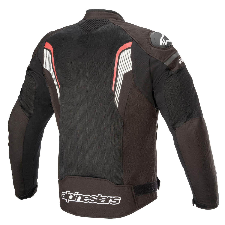 Jachetă de sport ALPINESTARS T-GP PLUS R V3 AIR текстильная для мотоциклистов, вид сзади купить по низкой цене