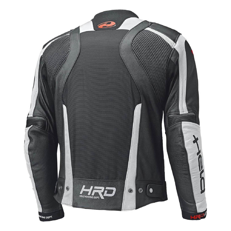 Geaca de piele HELD HASHIRO II спортивная для мотоциклистов вид сзади купить по низкой цене