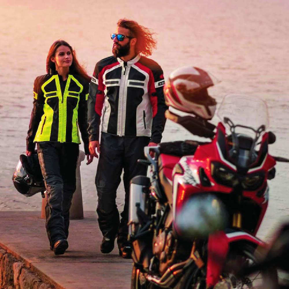 Куртка текстильная HELD TROPIC 3.0 для мотоциклистов вид на набережной купить по низкой цене