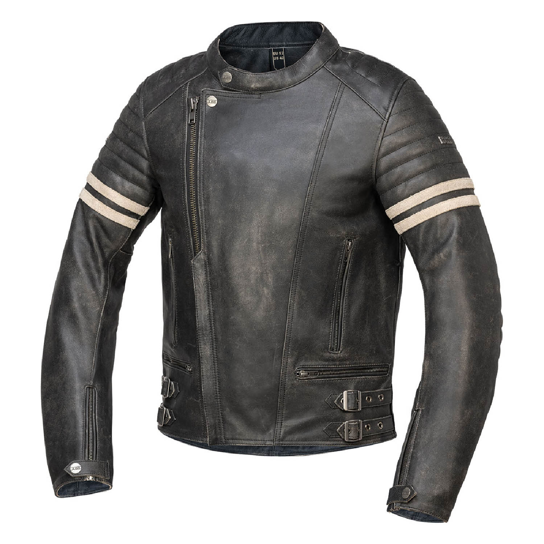 Куртка кожаная IXS CLASSIC LD ANDY для мотоциклистов купить по низкой цене