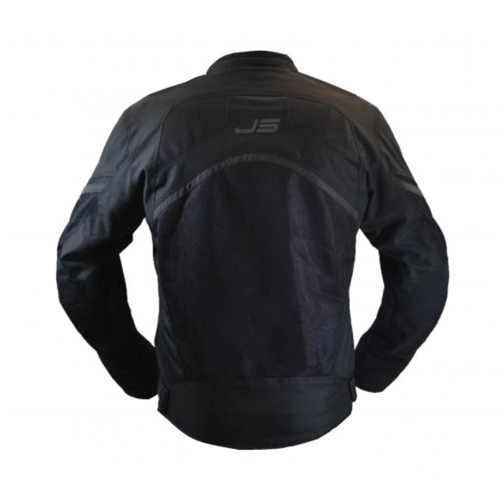 Куртка текстильная Jollisport Alaska цвет чёрный вид сзади купить по низкой цене