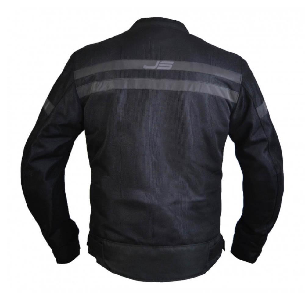 Куртка текстильная Jollisport Mach цвет чёрный вид сзади купить по низкой цене