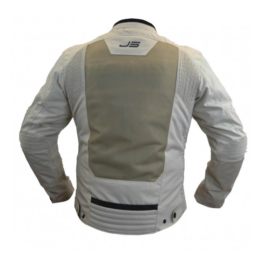 Geacă textilă Jollisport Slow цвет кремовый вид сзади купить по низкой цене