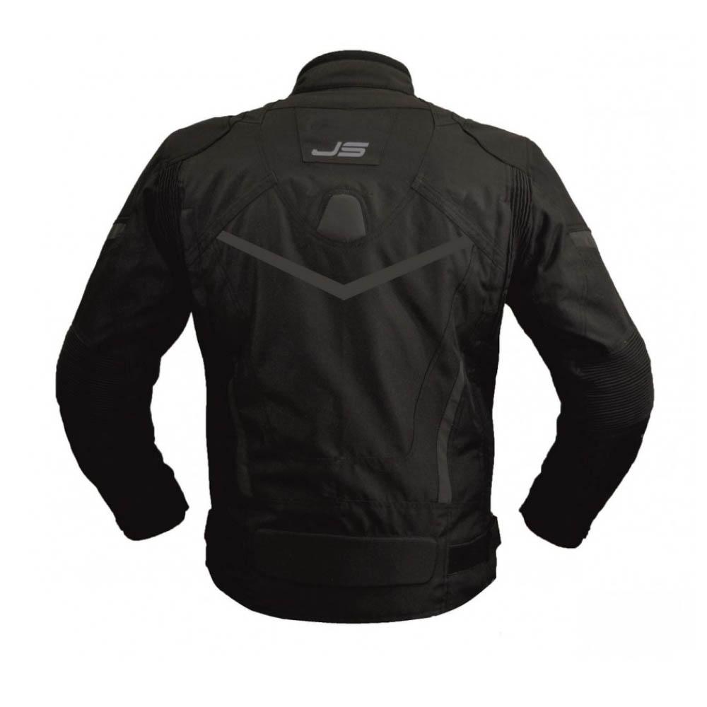 Куртка текстильная Jollisport Venom цвет чёрный вид сзади купить по низкой цене