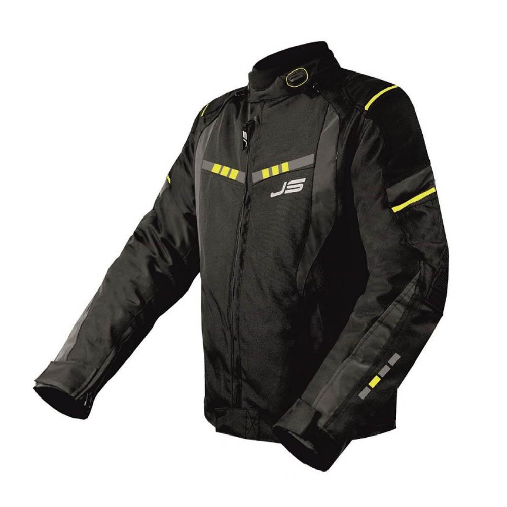 Geacă textilă Jollisport Venom цвет чёрный с желтыми вставками купить по низкой цене