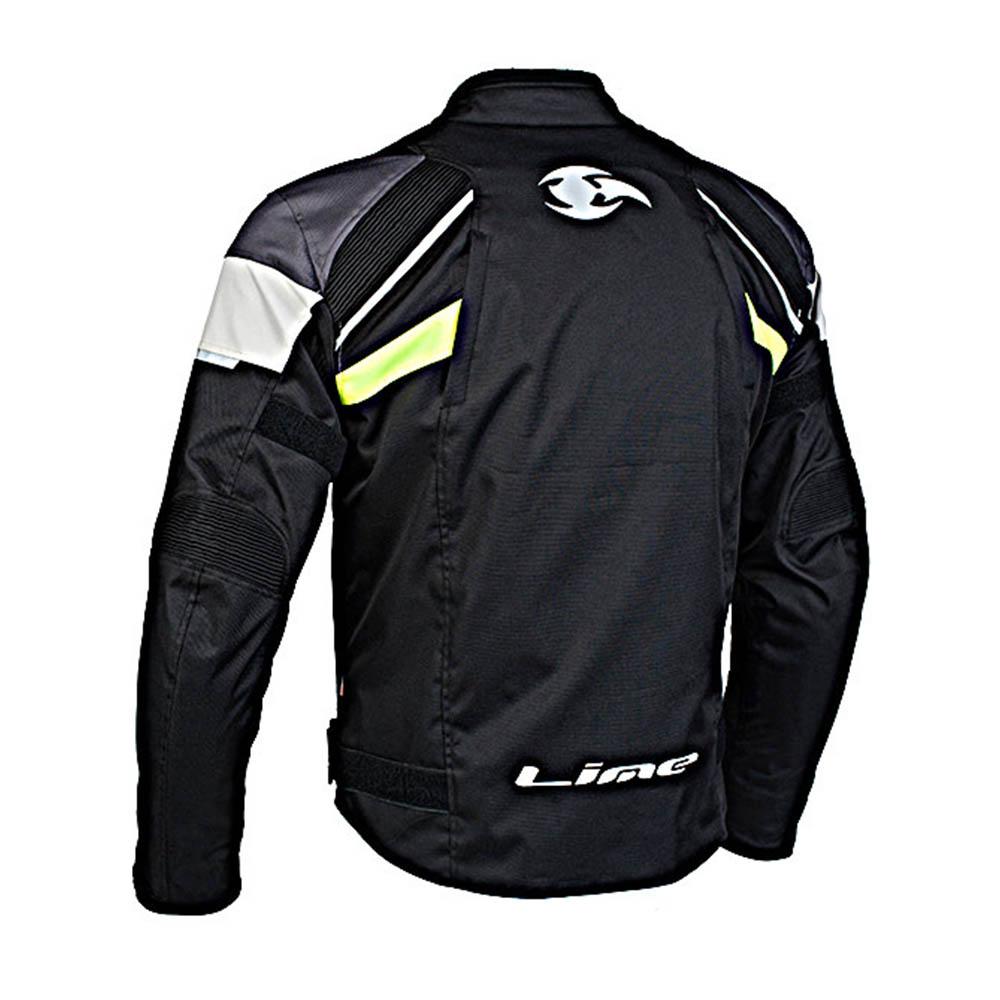 Куртка текстильная MBW BLADE-R вид сзади для мотоциклистов купить по низкой цене