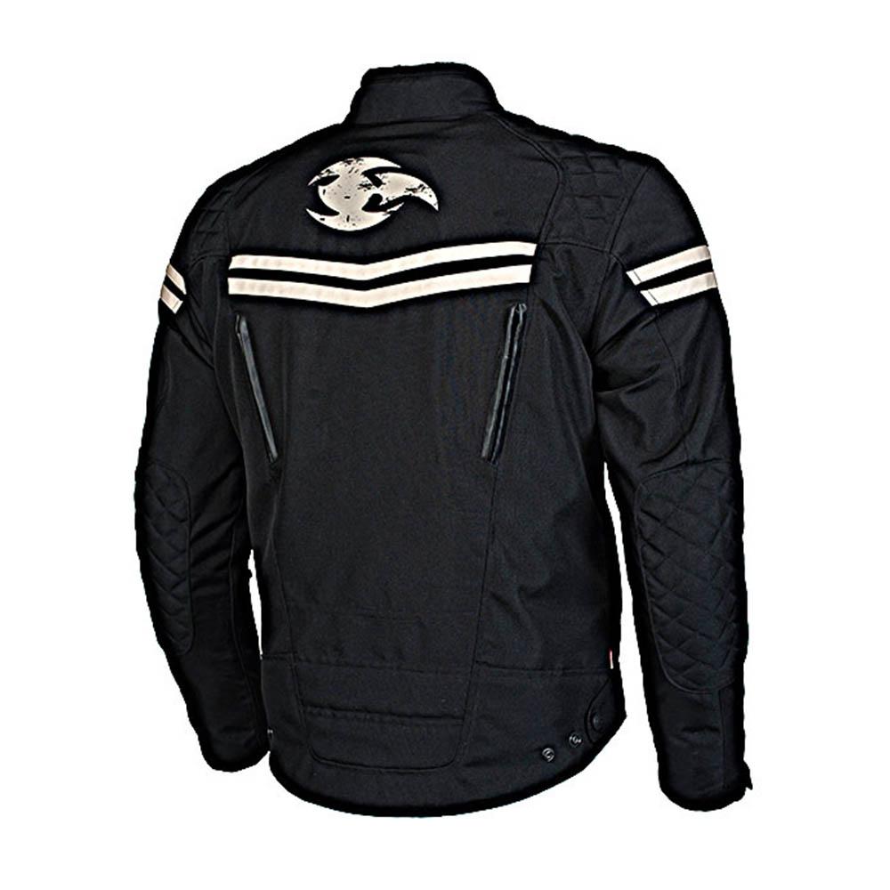 Куртка текстильная MBW EAGLE вид сзади для мотоциклистов купить по низкой цене