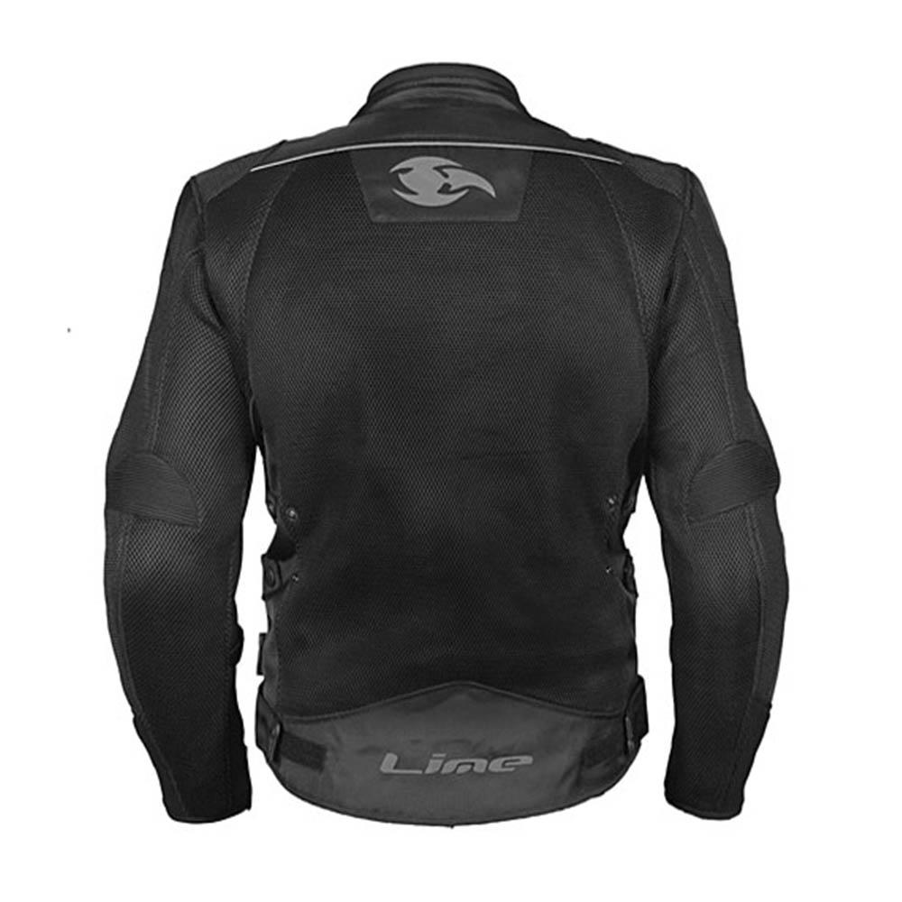 Geacă textilă MBW Air´n´Dry для мотоциклистов вид сзади купить по низкой цене