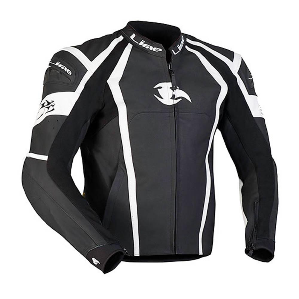 Спортивная куртка кожаная MBW THORN для мотоциклистов купить по низкой цене
