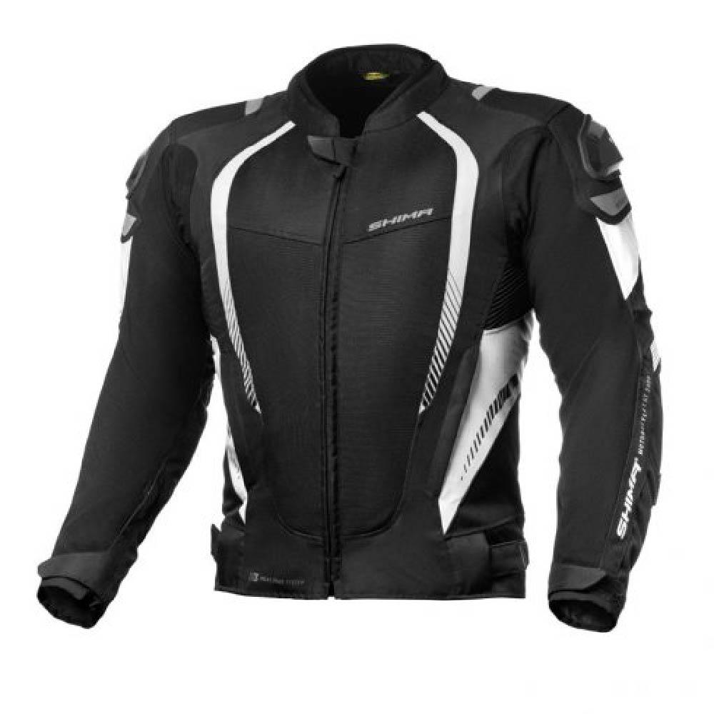 Куртка текстильная SHIMA MESH PRO цвет чёрный с белым купить по низкой цене