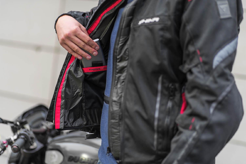 Жилет SHIMA POWERHEAT VEST утепляющий для мотоциклистов вид источник питания купить по низкой цене