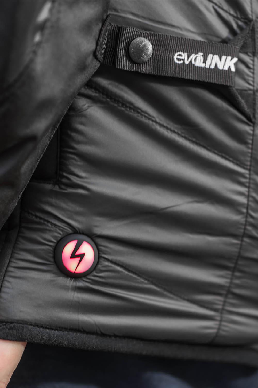 Жилет SHIMA POWERHEAT VEST утепляющий для мотоциклистов вид EvoLINK купить по низкой цене