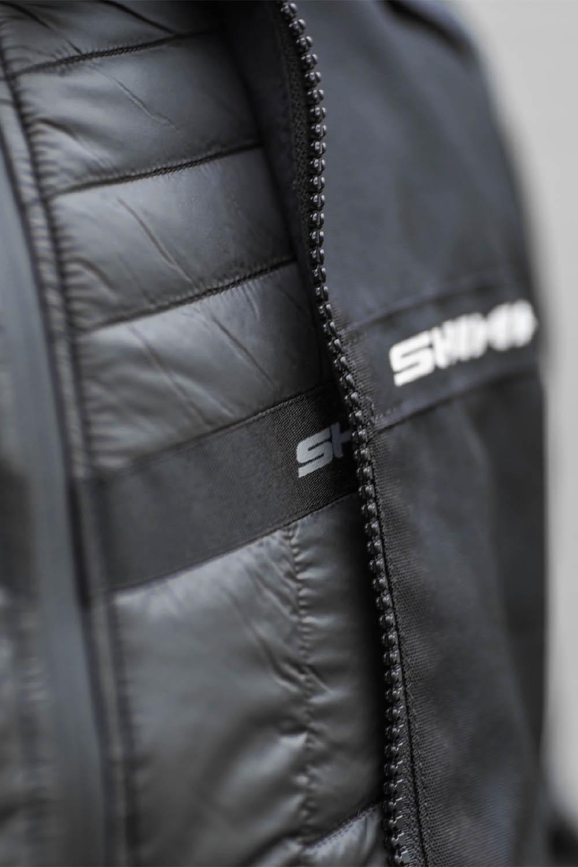 Жилет SHIMA POWERHEAT VEST утепляющий для мотоциклистов вид слева купить по низкой цене