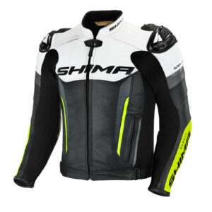 Спортивная куртка кожаная SHIMA BANDIT для мотоциклистов купить по низкой цене
