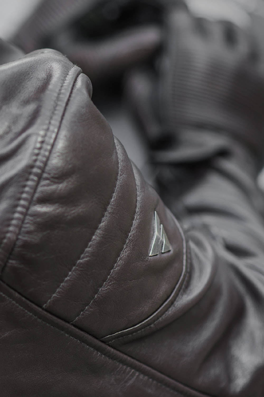 Куртка кожаная SHIMA BLAKE вид плечо для мотоциклистов купить по низкой цене
