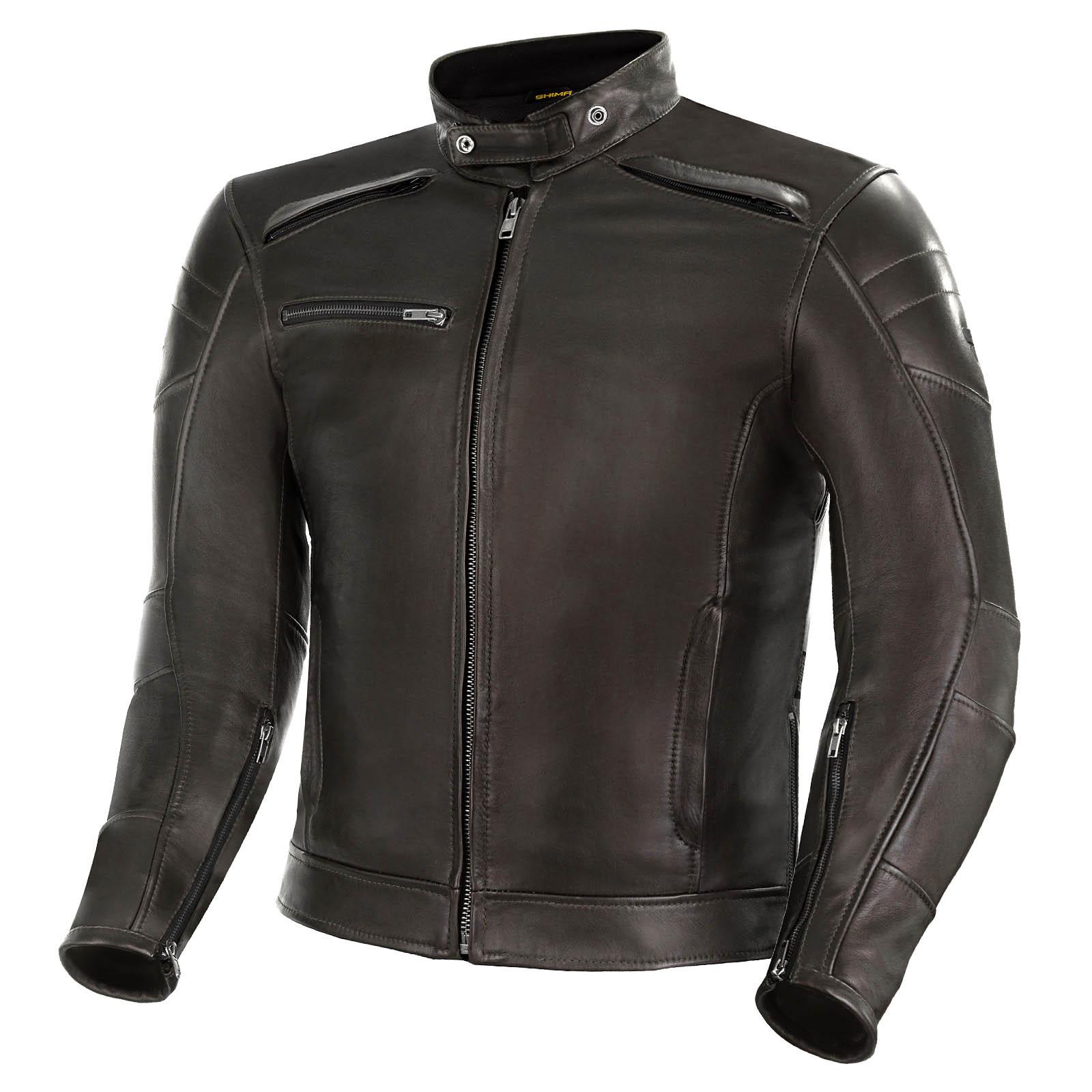 Куртка кожаная SHIMA BLAKE для мотоциклистов купить по низкой цене