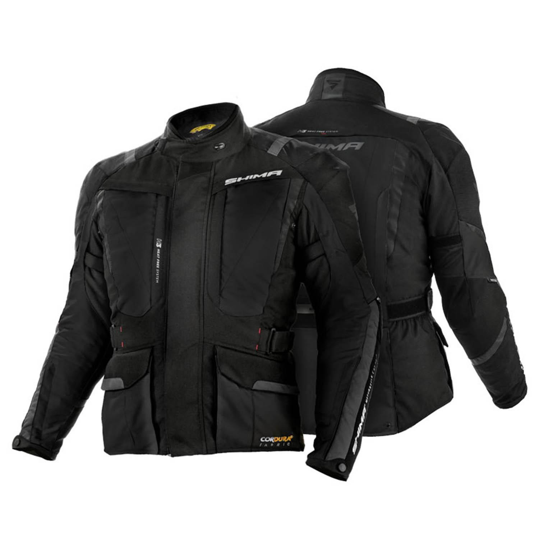 Туристическая куртка SHIMA HERO из текстиля для мотоциклистов вид пара купить по низкой цене