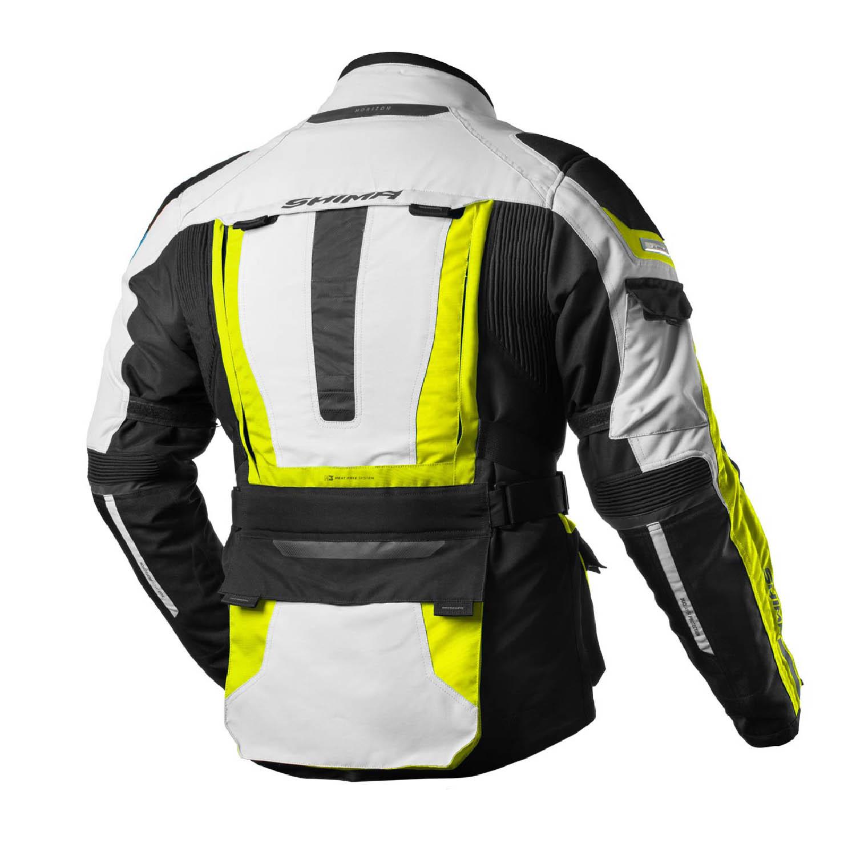 Jachetă turistică SHIMA HORIZON из текстиля для мотоциклистов вид сзади купить по низкой цене