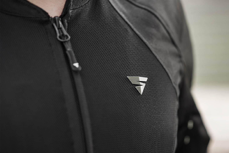 Летняя куртка SHIMA JET текстильная для мотоциклистов вид логотип купить по низкой цене