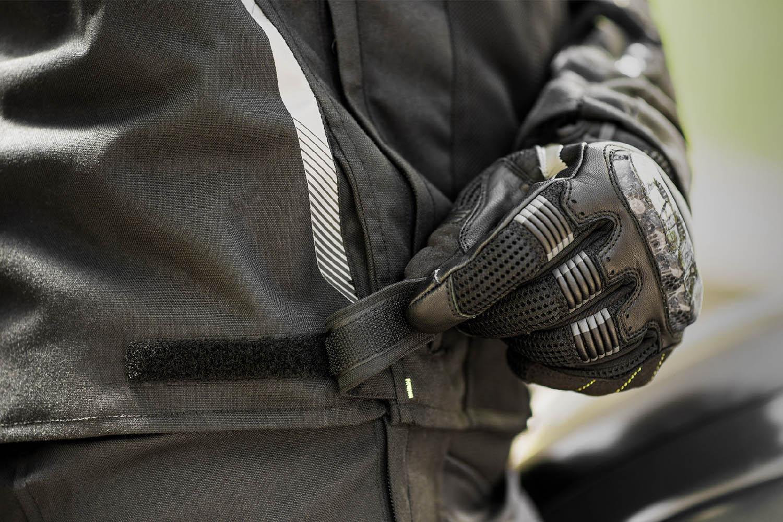 Летняя куртка SHIMA JET текстильная для мотоциклистов вид застёжка на поясе купить по низкой цене