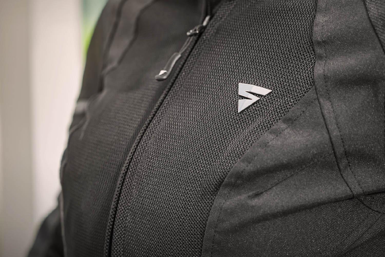 Женская куртка SHIMA JET LADY текстильная для мотоциклистов вид сетка спереди купить по низкой цене