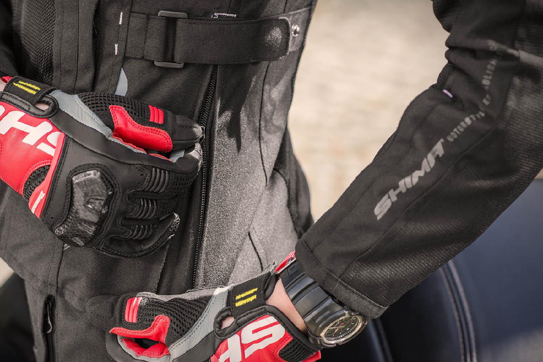 Женская куртка SHIMA JET LADY текстильная для мотоциклистов вид регулировка на поясе купить по низкой цене