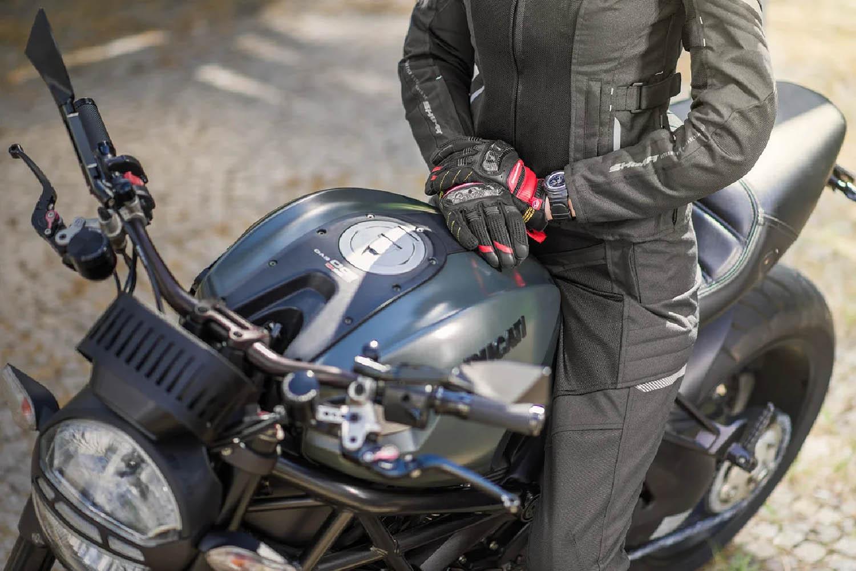 Женская куртка SHIMA JET LADY текстильная для мотоциклистов вид бензобак купить по низкой цене