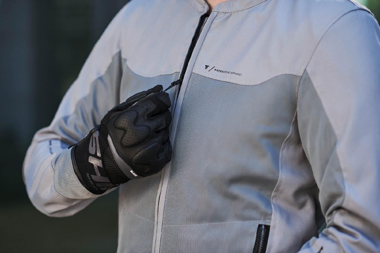 Летняя куртка SHIMA OPENAIR текстильная для мотоциклистов вид спереди купить по низкой цене