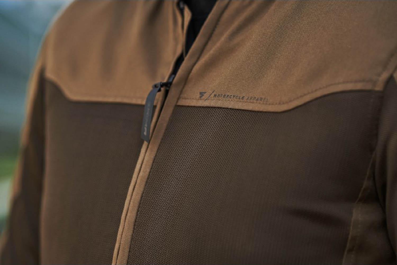 Летняя куртка SHIMA OPENAIR текстильная для мотоциклистов вид сетчатая вставка купить по низкой цене