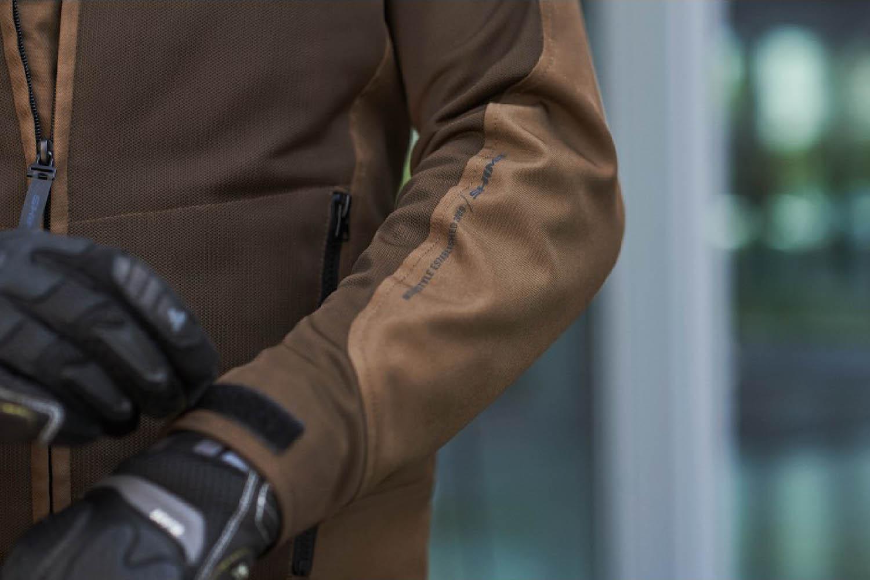Летняя куртка SHIMA OPENAIR текстильная для мотоциклистов вид рукав купить по низкой цене