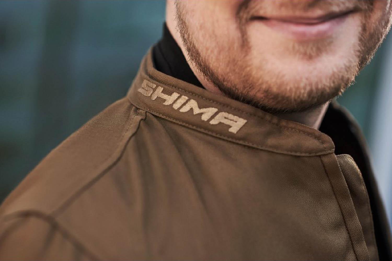 Летняя куртка SHIMA OPENAIR текстильная для мотоциклистов вид воротник купить по низкой цене