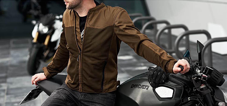 Летняя куртка SHIMA OPENAIR текстильная для мотоциклистов вид сидя купить по низкой цене