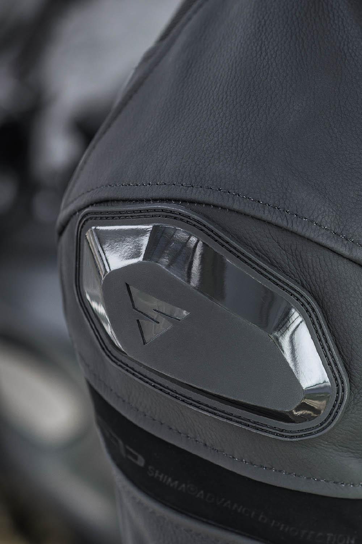Спортивная куртка SHIMA PISTON кожано-текстильная для мотоциклистов вид слайдер купить по низкой цене
