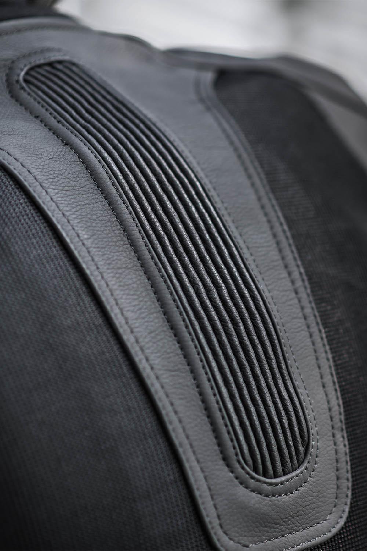 Спортивная куртка SHIMA PISTON кожано-текстильная для мотоциклистов вид складки купить по низкой цене