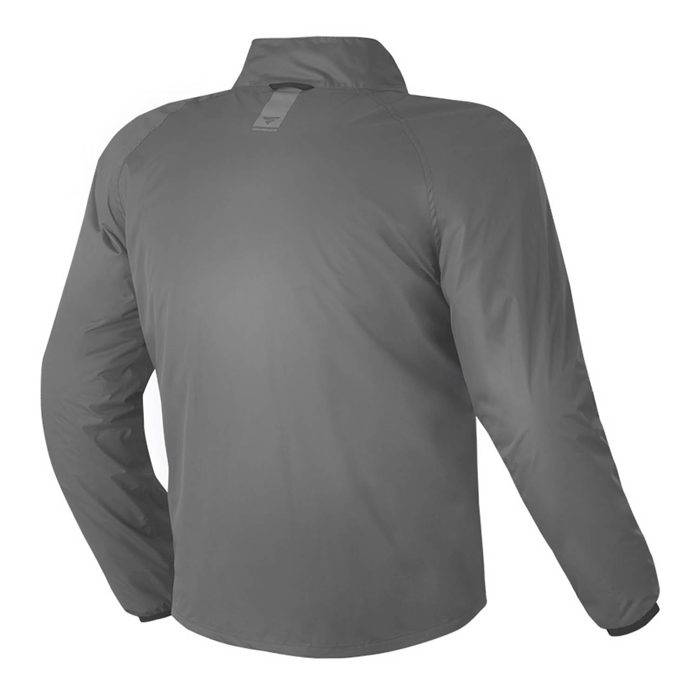 Водонепроницаемая куртка SHIMA RAINSHELL для мотоциклистов, вид сзади купить по низкой цене