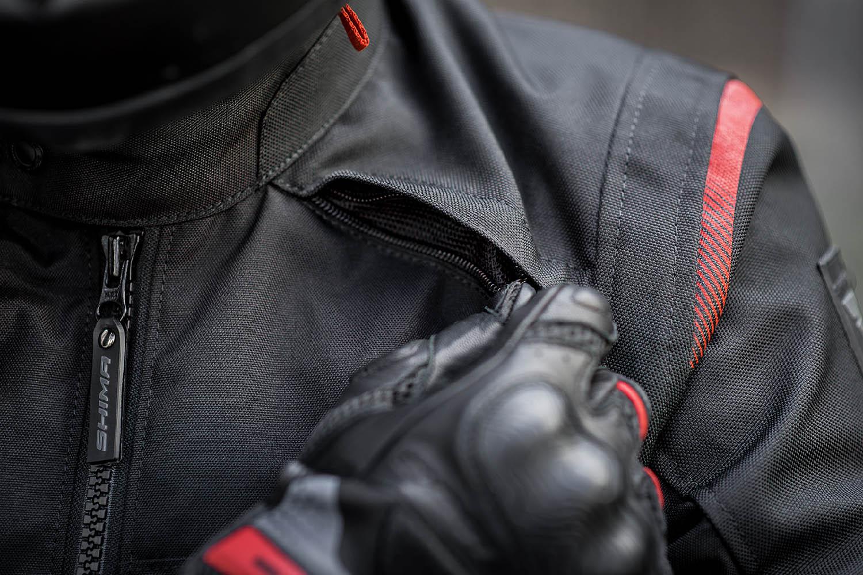 Туристическая куртка SHIMA RUSH текстильная для мотоциклистов вид вентиляция купить по низкой цене