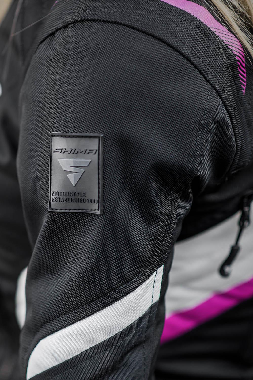 Женская куртка SHIMA RUSH LADY текстильная для мотоциклистов вид эмблема купить по низкой цене