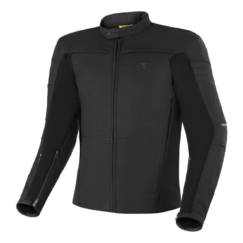 Кожаная куртка SHIMA SHADOW TFL классическая для мотоциклистов купить по низкой цене