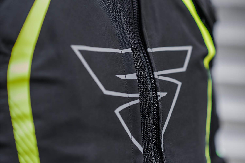 Спортивная куртка SHIMA SOLID PRO текстильная для мотоциклистов вид H3-ZIP купить по низкой цене