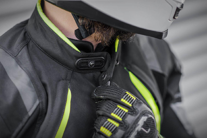 Спортивная куртка SHIMA SOLID PRO текстильная для мотоциклистов вид клипса купить по низкой цене
