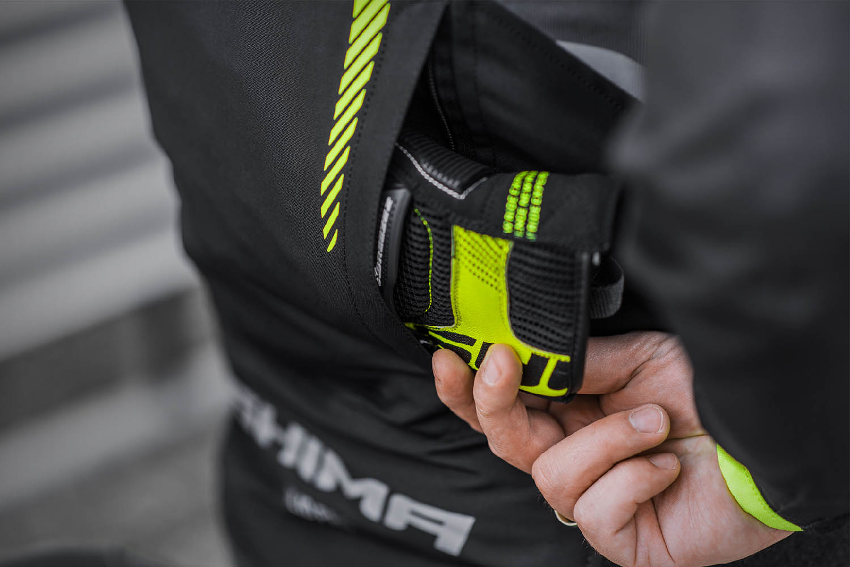 Спортивная куртка SHIMA SOLID PRO текстильная для мотоциклистов вид карман купить по низкой цене