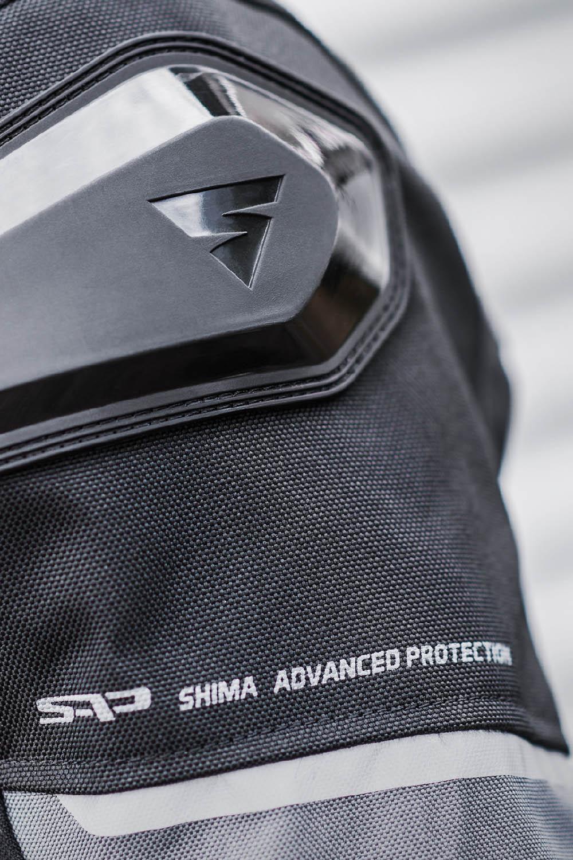 Спортивная куртка SHIMA SOLID PRO текстильная для мотоциклистов вид слайдер купить по низкой цене