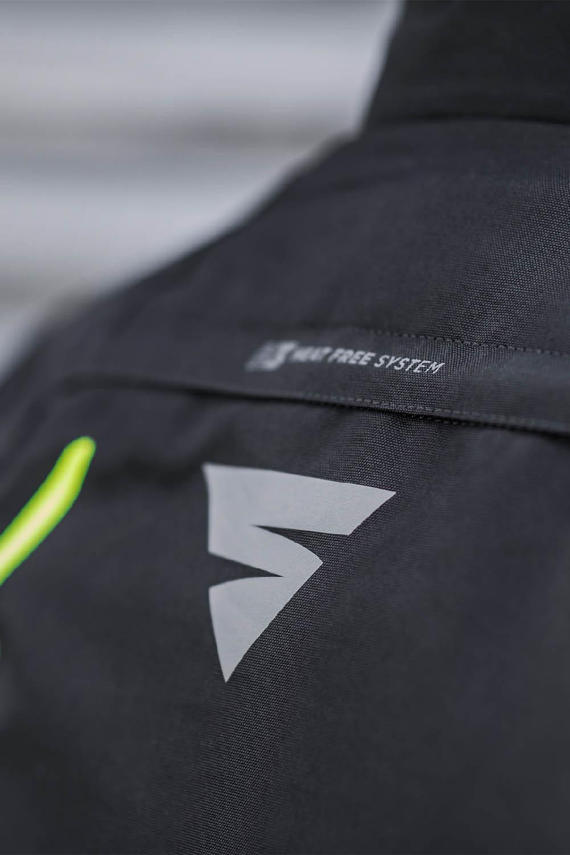 Спортивная куртка SHIMA SOLID PRO текстильная для мотоциклистов вид HFS купить по низкой цене